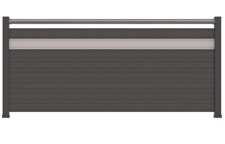 Clôtures, brise vue, claustra en aluminium