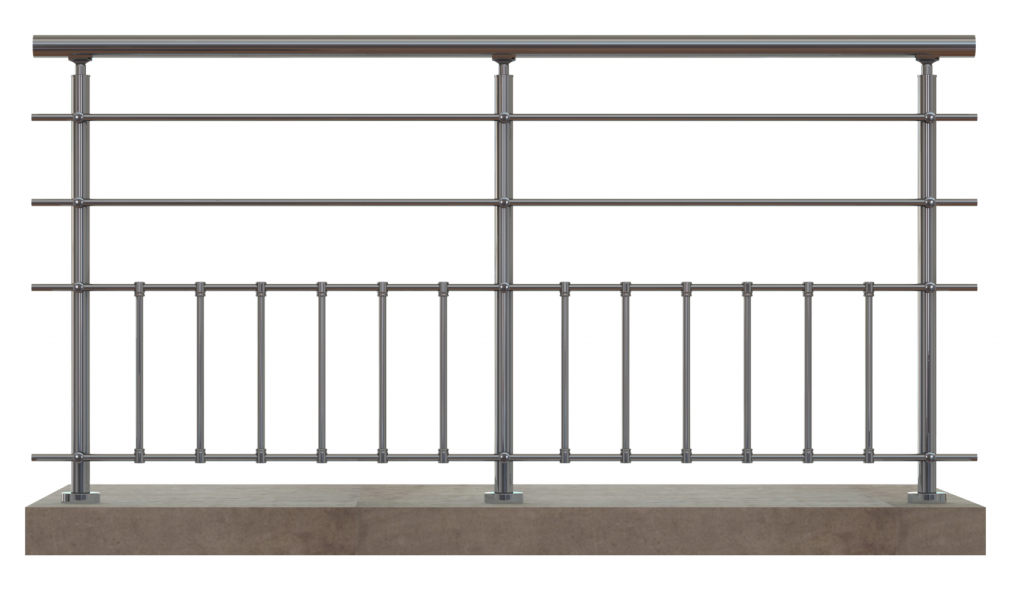 Balustrade en Aluminium modèle SENLIS