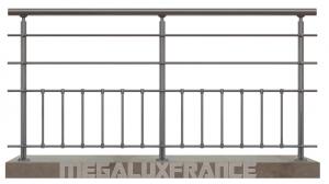Garde corps en aluminium modèle SENLIS